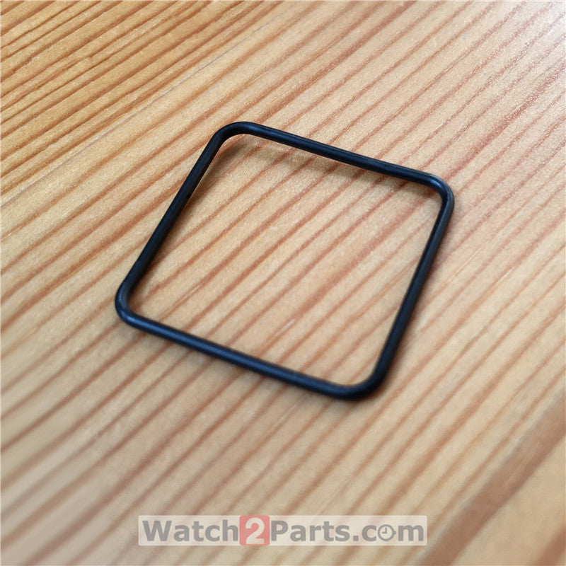 rubber waterproof ring for Cartier Santos 100/M/XL automatic watch bezel&back cover