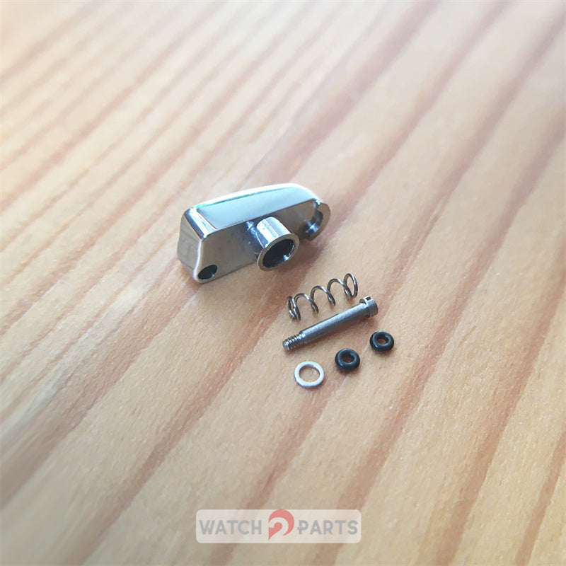 steel pusher button for Cartier Calibre 3578 42mm automatic watch