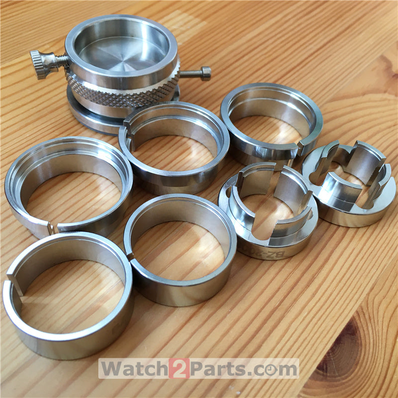 steel watch maintenance fixator base tool for ETA and cal. watch movement