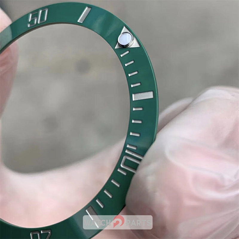 Luminous ceramic watch bezel inserts for Rolex Submariner 116610 watch
