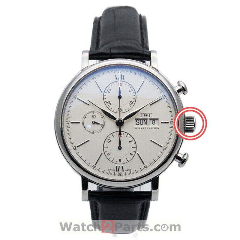 iw3910 watch crown for IWC Portofino Family automatic mens watch - watch2parts