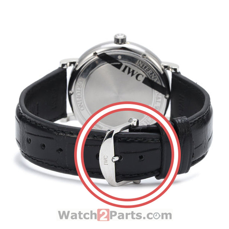 18mm  watch buckle for IWC Portofino Family watch leather band - watch2parts