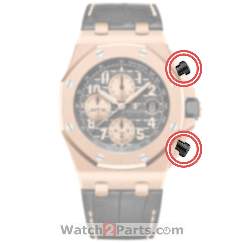 ceramic pusher cover cap for AP Audemars Piguet Royal Oak Offshore 42mm chronography 26470 automatic watch button