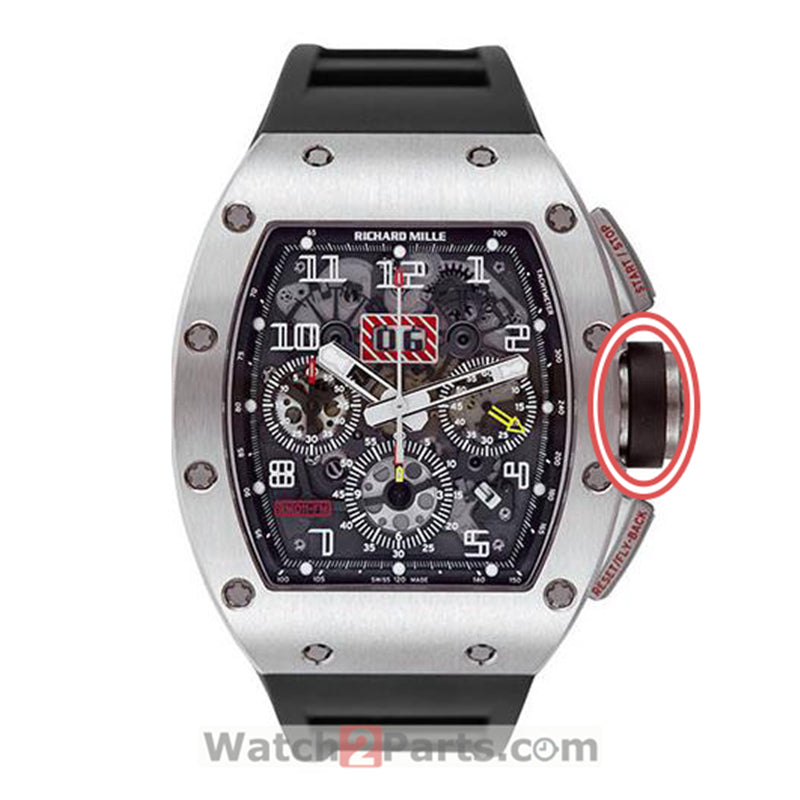 watch crown rubber ring sheath for Richard Mille authentic watch