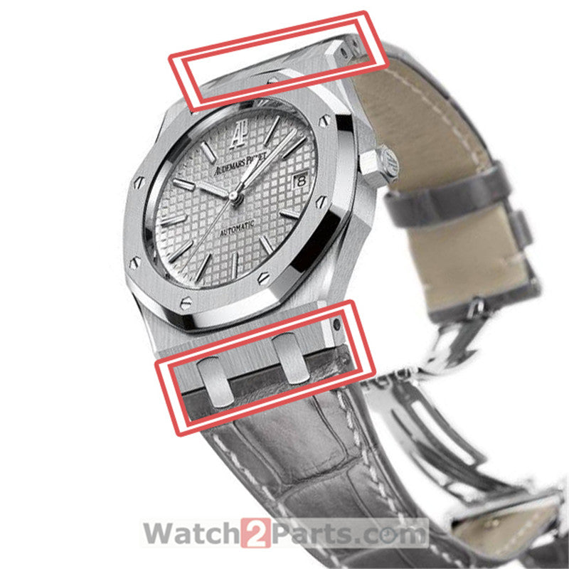 15300 watch band conversion kit for Audemars Piguet ROYAL OAK 39mm watch end link - watch2parts