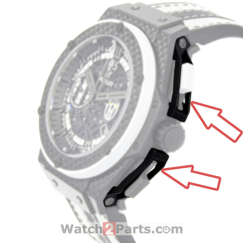 plastic watch pusher protect guard for HUB Hublot King Power 48mm 716 automatic watch