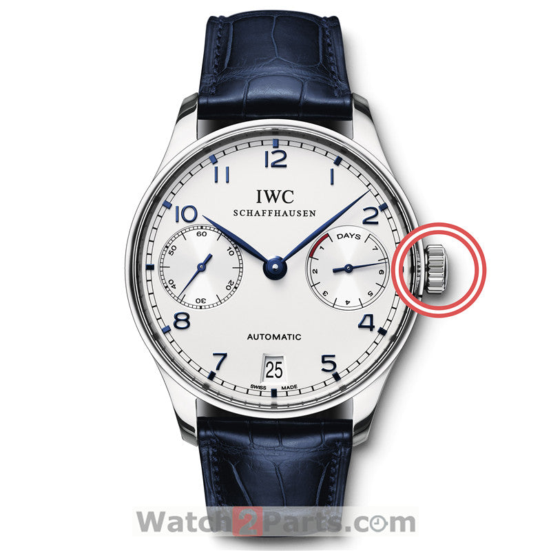 IW5001 watch crown for IWC Portugieser 7 Days Power Reserve watch