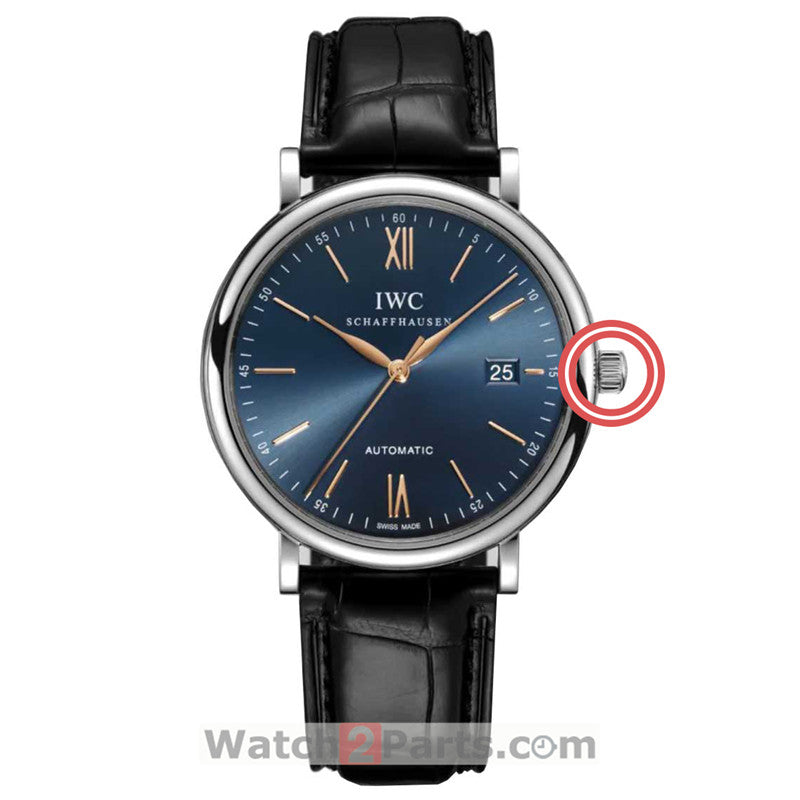 waterproof crown for IWC Portofino Family IW3565 automatic watch