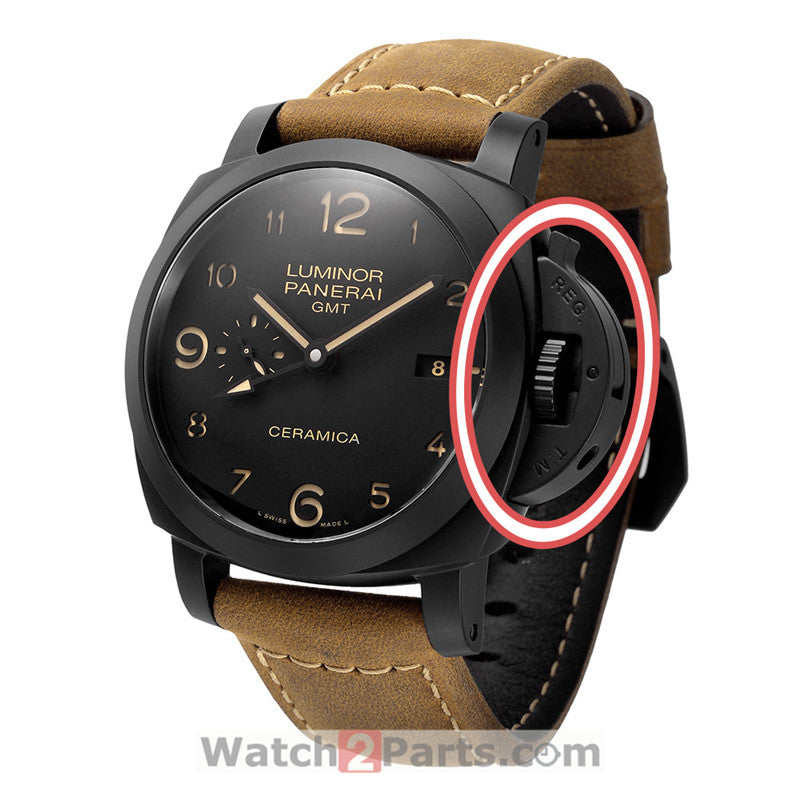 watch crown protect guard parts for Panerai Luminor 1950 watch pam441 - watch2parts