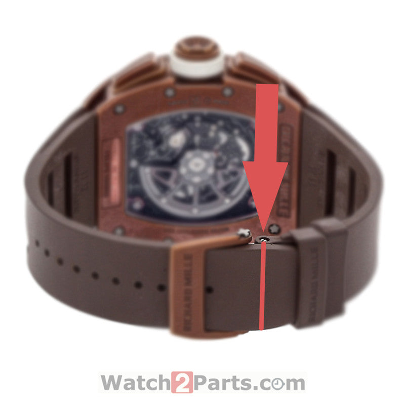 RM watch screwtube for Richard Mille RM011 RM035 RM030 watch parts - watch2parts