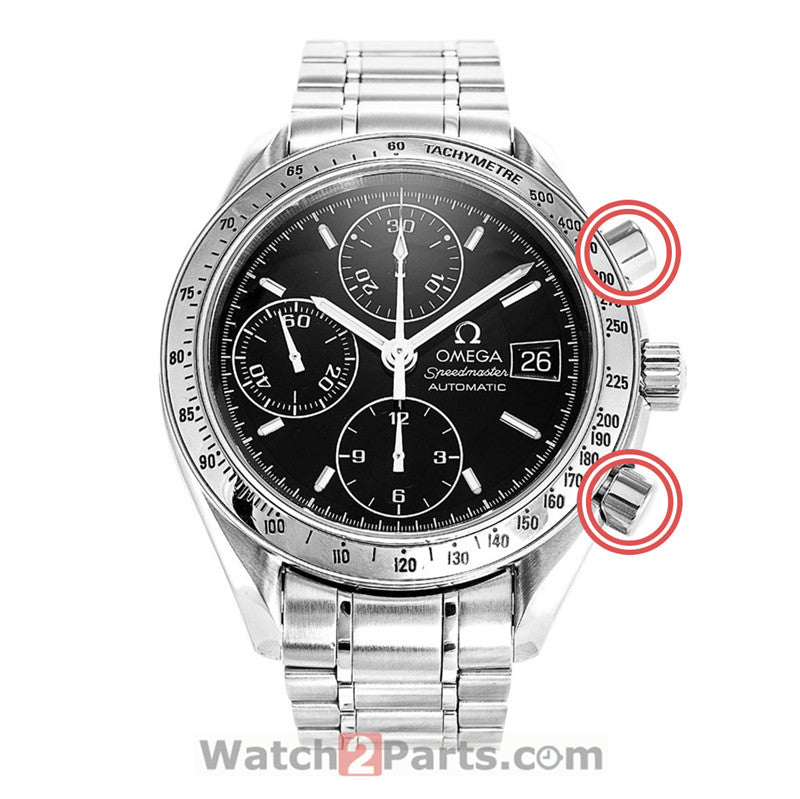 175.0032 watch pusher for Omega Speedmaster Chronograph watch 175.0083 375.0083 - watch2parts