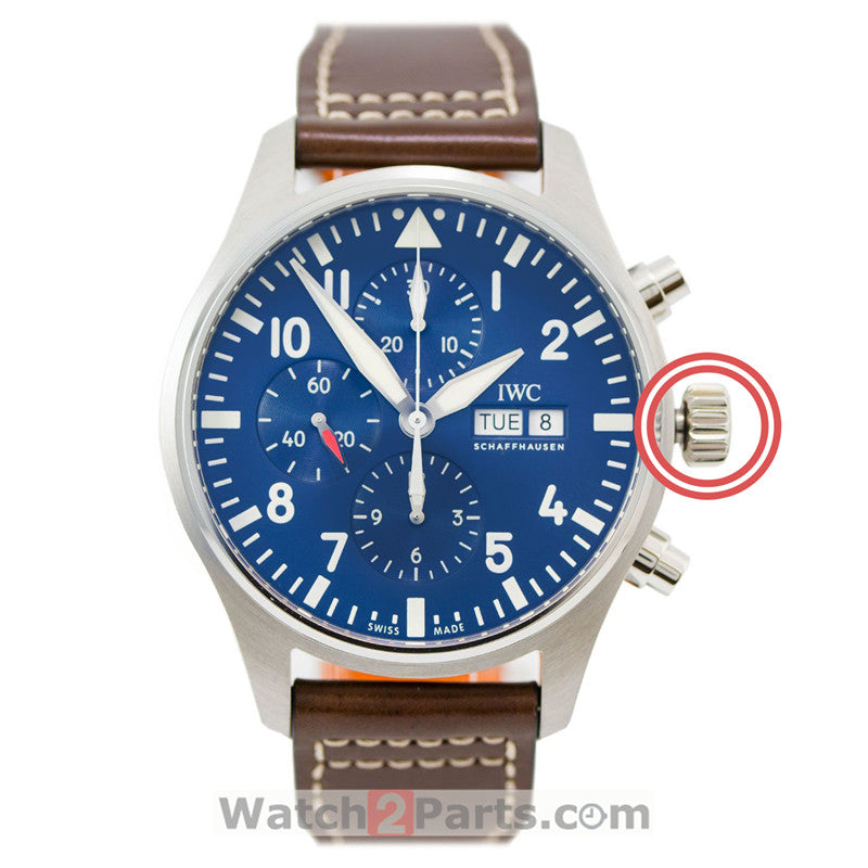 watch screw crown for IWC PILOT'S chronograph automatic watch IW3777