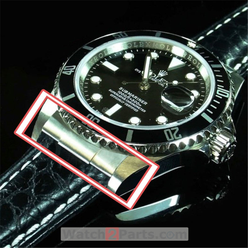 steel solid end link for Rolex Submariner 40mm automatic watch band conversion kit - watch2parts