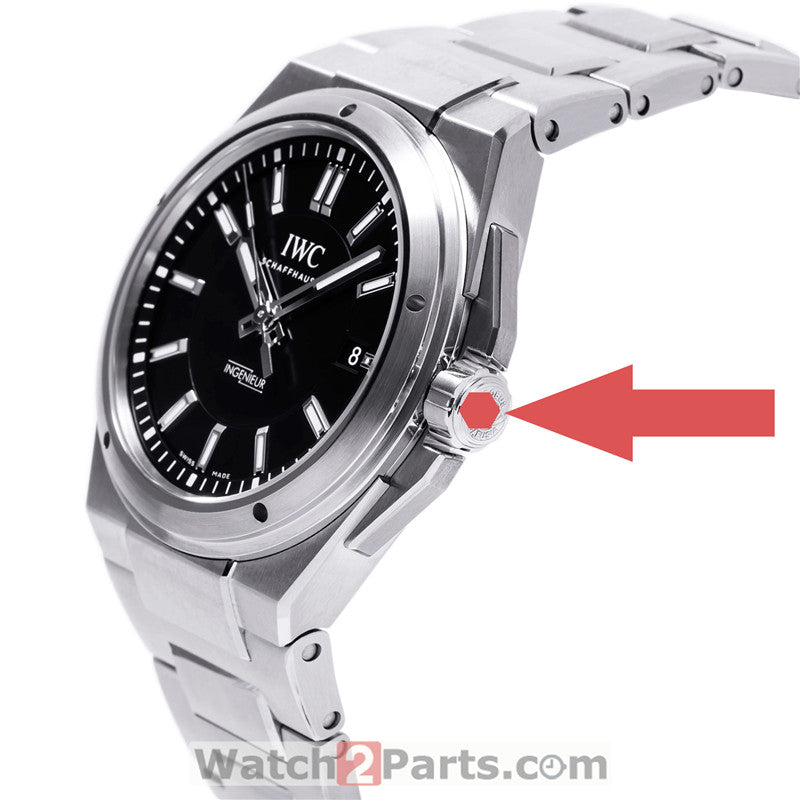 inner hexagon watch crown tube screwdriver for IWC Ingenieur Family 40mm automatic watch IW3239 - watch2parts