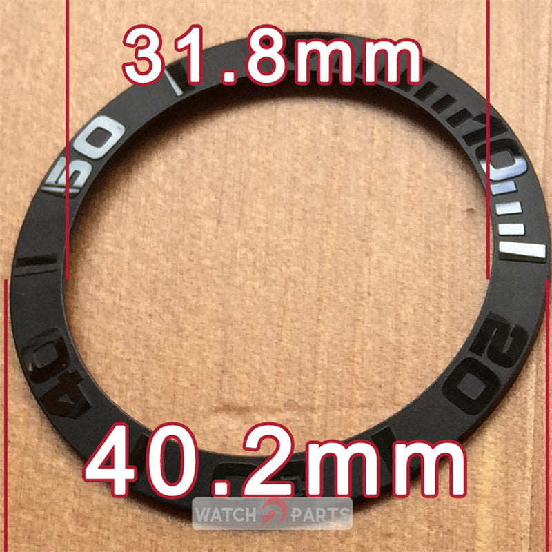 ceramic watch bezel insert for Rolex Yacht-Master automatic 116655 replacement parts - watch2parts
