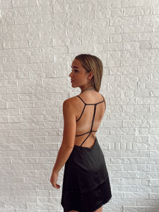 CAT STRAPPY DRESS