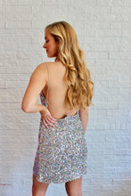 Load image into Gallery viewer, SEQUIN MINI DRESS