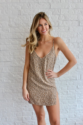 CHEETAH GRL DRESS