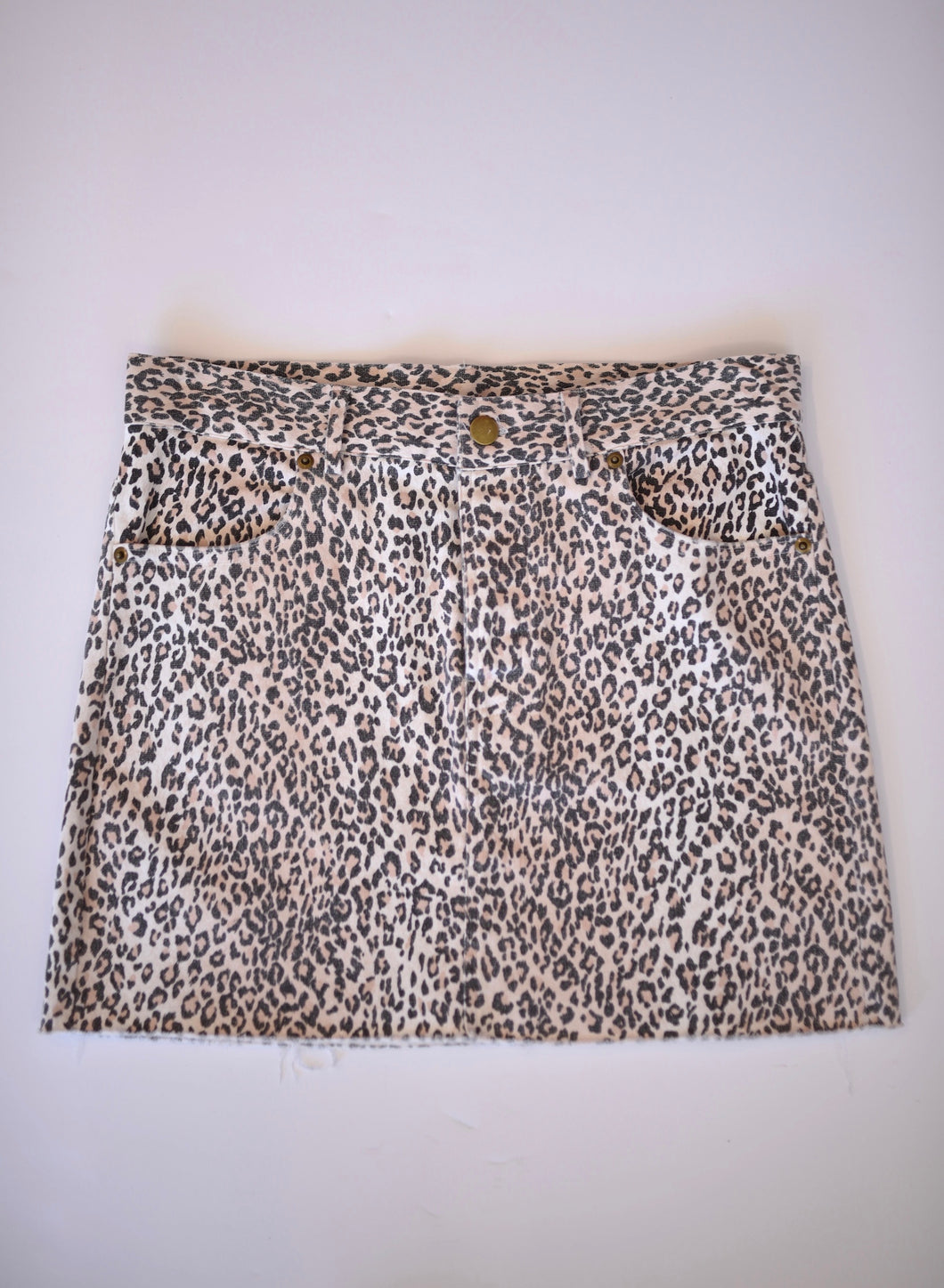 LIGHT LEOPARD SKIRT