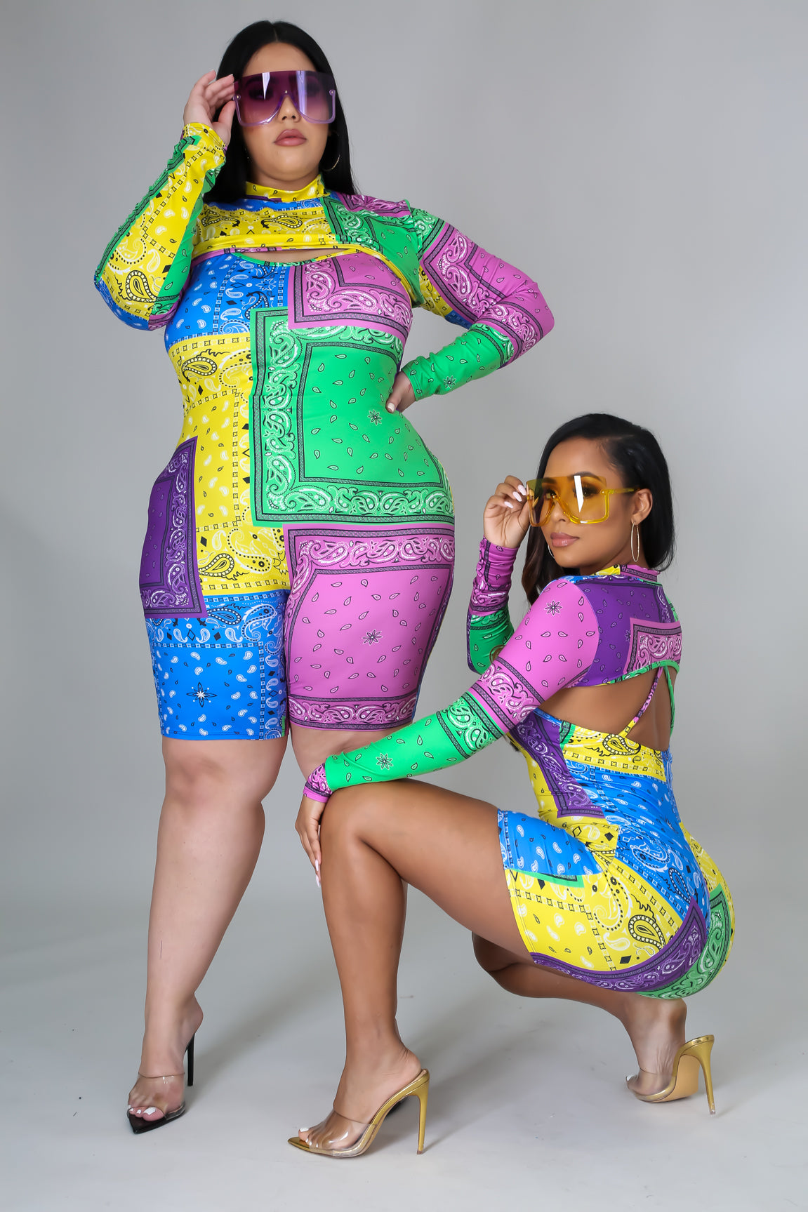"""Color ME Badd"" Romper Set"