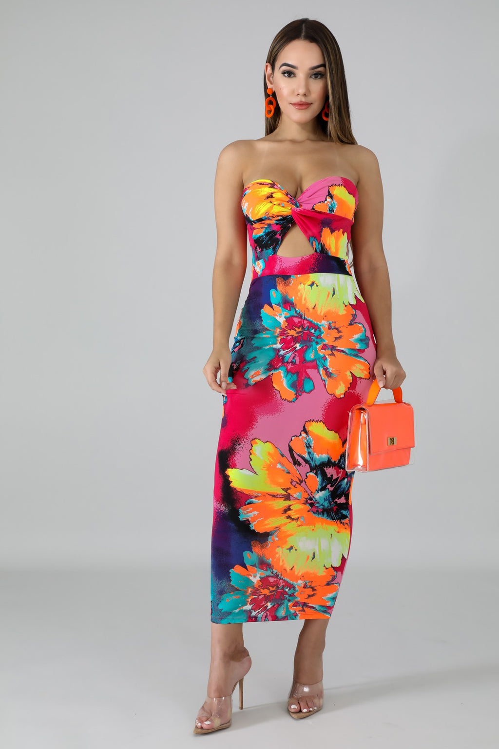 """Flower Bomb"" Tube dress"