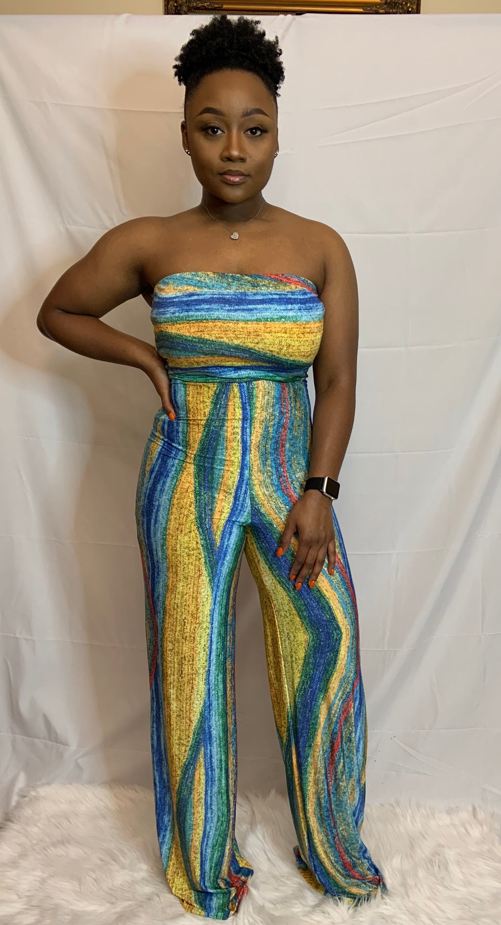"""Color Me Beautiful"" Jumpsuit"