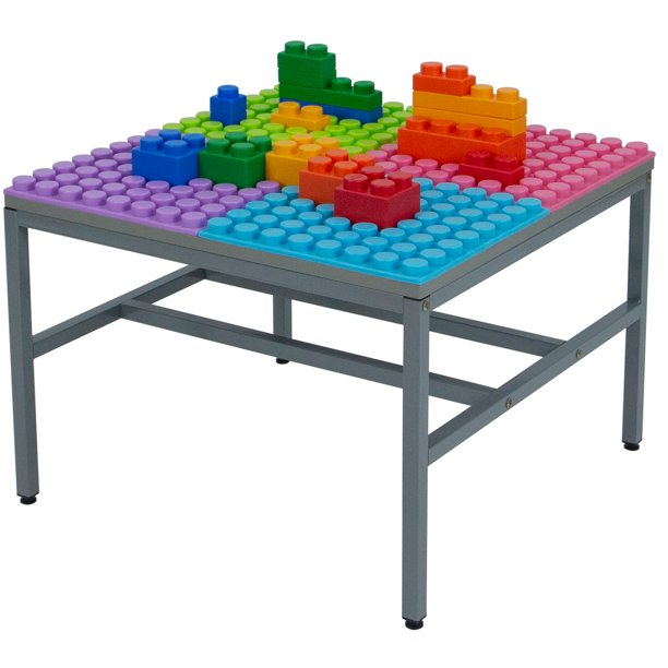Play Station for Soft Building Blocks Building Base (Large)