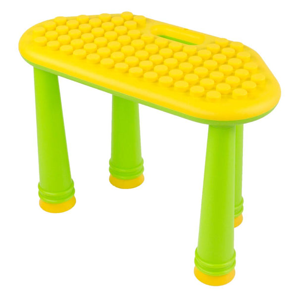 Soft Building Blocks Table UNiPetal Yellow