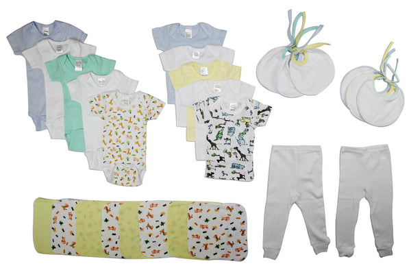 Baby Clothing - Baby Boys 26 Piece Layette Gift Set