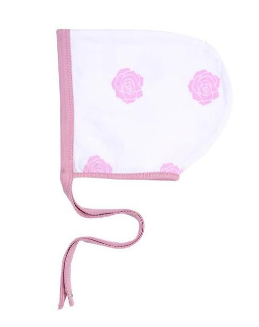 Baby Clothing - Smart Baby Bonnet - Pink Rose