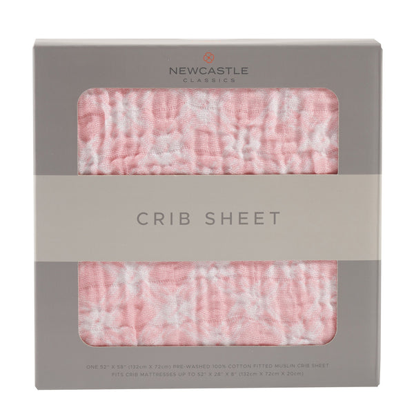 Blankets & Pillows - Primrose Pink Plaid Crib Sheet