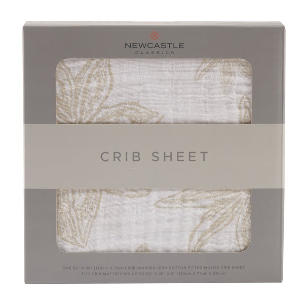 Blankets & Pillows - Star Anise Crib Sheet
