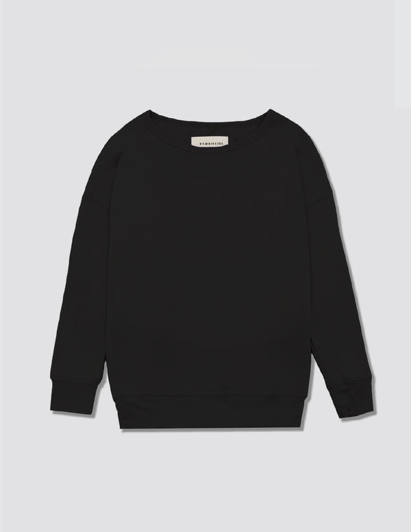 Kid's Clothing - Crewneck Warmie - Black
