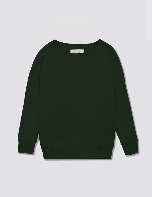 Kid's Clothing - Crewneck Warmie - Forest