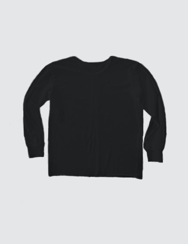 Kid's Clothing - Long Sleeve Top - Black