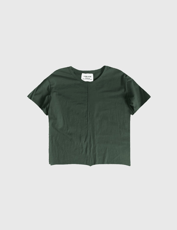 Kid's Clothing - Short Sleeve Top - Army Green