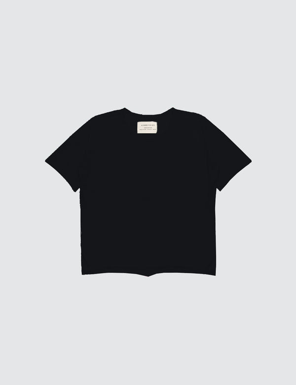 Kid's Clothing - Short Sleeve Top - Black