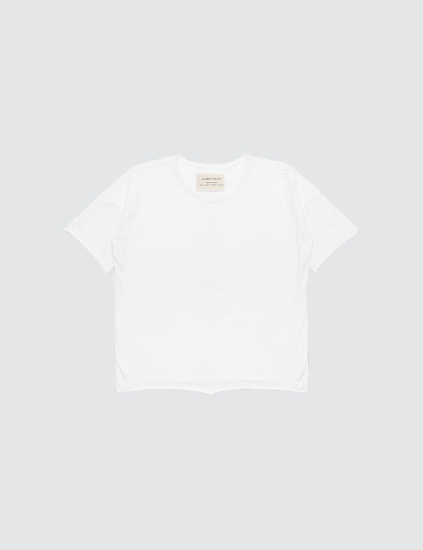 Kid's Clothing - Short Sleeve Top - White