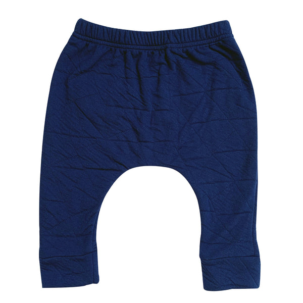 Kids & Babies - Hammer Pants - Quilted Deep Blue