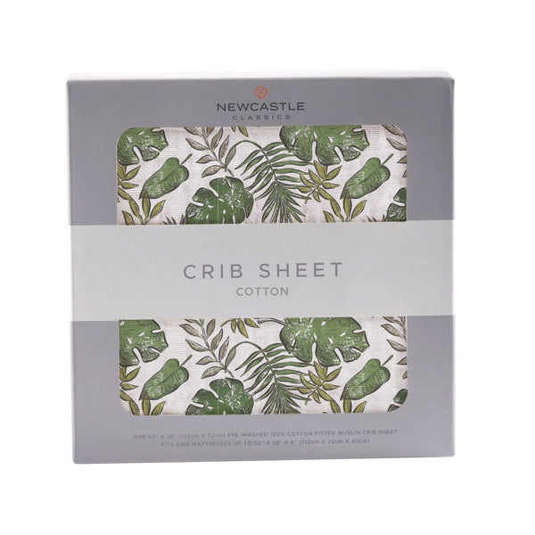 Kids & Babies - Jurassic Forest Crib Sheet