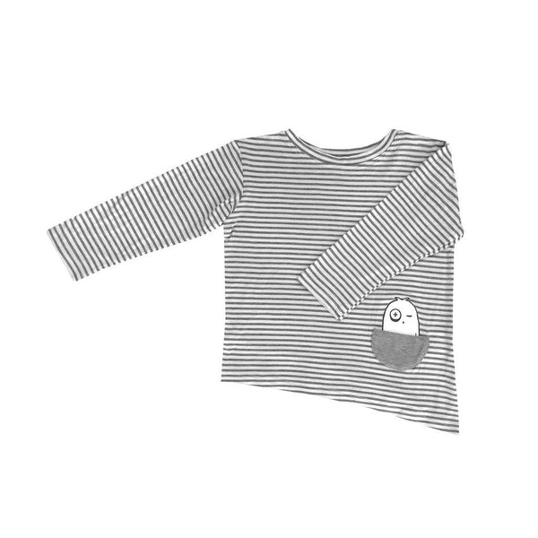 Kids & Babies - Long-sleeve Asymmetric Tee