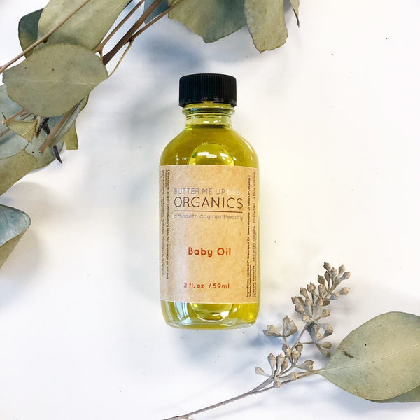 Skincare - Organic Gentle Baby Oil