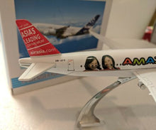 Load image into Gallery viewer, ✈️ 16cm 1:450 Amazing Air Asia Aeroplane Diecast Plane Toy Model
