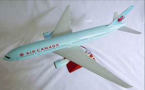 AIR CANADA LARGE PLANE MODEL AIRPLANE APX 45cm 1.5' SOLID RESIN