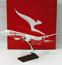 Load image into Gallery viewer, Qantas 787-9 100 th Anniversary Large Plane Model 42cm 1:160