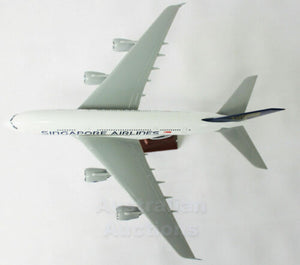 Large Singapore Airline A380 Airplane Aeroplane Plane Toy Model 47cm