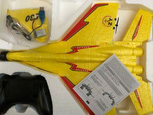 Load image into Gallery viewer, RC Airplane Fighter SU 27 J11 2.4G 2 Chnl Plane Red or Yellow 6 Axis Gyro EPS