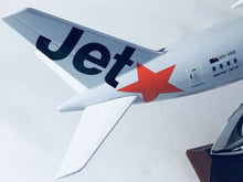 Load image into Gallery viewer, Jetstar 787 Dreamliner B787 Large Plane Model Solid Resin 2Kg Apx 43Cm 1:160