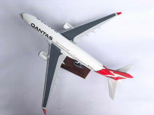 QANTAS A330 LARGE PLANE MODEL ON STAND APX 1.5' RESIN PERFECT DETAILS