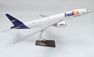 FEDEX LARGE PLANE MODEL ON STAND 45cm